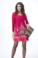 one-piece dress plus size clothing plus size plus size mm chiffon one-piece dress
