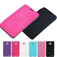 STYLISH SYNTHETIC LEATHER FLIP CASE COVER FOR SAMSUNG GALAXY S2 II I9100