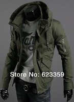 FREE SHIPPING 2014 new men's clothing/coat/spring /casual/drop shipping/men's jacket for men outwear winter fashion jackets
