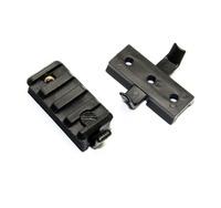 Pack of 2 pcs Wing-Loc & Picatinny Rail Adapter For ACH MSA RAC Rail System