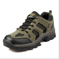 Brand New 2014 Camel Mens Sport Shoes Spring  Leather Outdoor Walking Shoes Waterproof Climbing Footwear