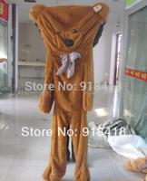 300cm Teddy bear coat/skin, empty inside,3colors for chose,Christmas gift,stuffed plush animal ,birthday gift Free Shiping