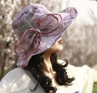 2014 New Stylish Sunbonnet Protect You From Ultraviolet Ray In Summer Korean Style Big Beach Hat  For Women High Quality Hat
