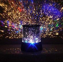Dreamlike Colorful Sky Star Master Night Light Novelty Amazing LED Sky Star Master Light Projector Lamp Night Lamp Free Shipping(China (Mainland))