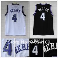Sacramento 4 Chris Webber Jersey, Cheap Basketball Jersey Chris Webber New Rev 30 Embroidery Logo, Mens Sport Basketball Jersey