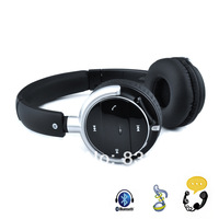 Bluetooth4.0 + EDR Stereo Hands-free Headphone for Cell Phone Laptop Tablet PC
