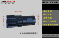 Imalent amere xm-l2 led flashlight lcd touch 18650 flashlight dd4 r