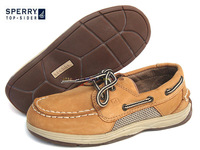 Sperry a11 the whole genuine leather parent-child shoes boys shoes boat shoes yb21463a