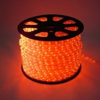 LED rope lights round 2wire Yellow color