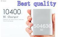 Hot Sale Original Portable Xiaomi Power Bank 10400mAh For iPhone HTC SAMSUMG
