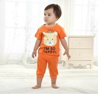 2014 Hot sell New design Baby girl's/girl's Sports Set sport clothing set baby wear Kids Suit kids wear