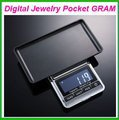 NEW 200g x 0.01g Mini Digital Jewelry Pocket GRAM Scale EG2344