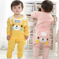Babyrow 2014 spring new men 's clothes children suit cotton baby sports clothing tide treasure