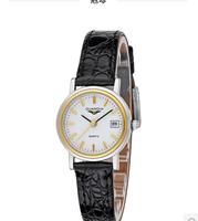 Violin quartz genuine leather ladies watch vintage white collar casual female watches