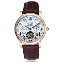 Carolina tourbillon Fashion wristwatch male watch multifunctional strap mens watch ca1064