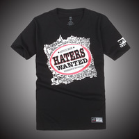 Hot!Passion!Super Star The&Miz Haters Wanted Black short sleeve T-shirt,Free shipping ePacket