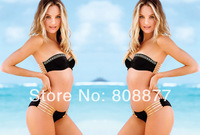 High Quality Black Sexy Bikini Black Swimsuit Black Bathing Suit