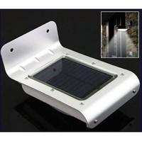 10pcs Solar Powered Lamp Energy saving Outdoor 16 LED Wall Garden Yard Street  light activated  lightLight