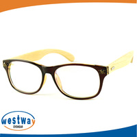 Cat Eye Prescription Glasses New Designer Oculos de grau bamboo Vintage Optical Glasses wood frame Eyeglasses 14ww32