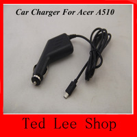 Free Shipping 2014 New DC 12V 1.5A Car Charger Adapter for Acer Iconia Tab A510 A700 A701 Power Supply + Drop SHIPPING