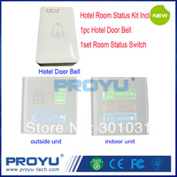 Hotel Touch Screen Rroom Status Switch PY- RS1 Kit Include 1set Room Status Switch+1pc Door Bell