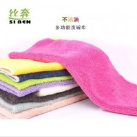 New 2014 Novelty Households Ktchen Supplies Multipurpose Not Contaminated With Oil Washing Cleaning Towel Dishcloth 5Sets/Lot