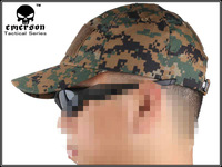 EMERSON tactical cap Baseball Cap Military Tactical Army Cap Anti-scrape Grid Fabric camouflage woodland marpat 8638