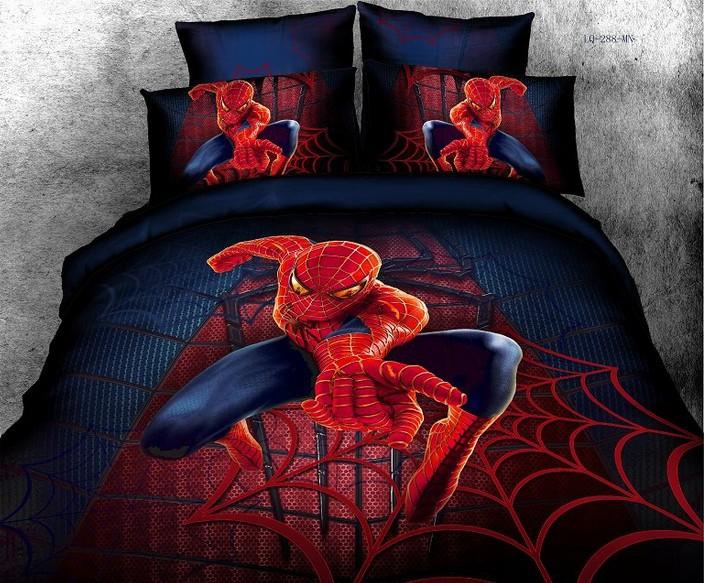 Full Size Kid Bedding Sets Spiderman Bedding Set Promotion-Online Shopping for ...