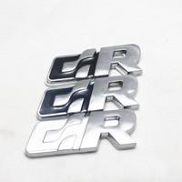 Free Shipping (5pieces/lot)  3D Metal R Car logo /Emblem /Badge,Top Quality Car Sticker For VW
