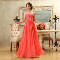 2013 red evening dress red long design lace tube top evening dress wedding dress dinner formal maternity dress h37