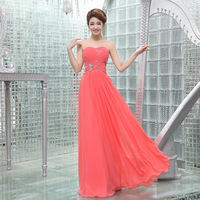 Wedding dress bride wedding dress evening dress red long design bridal wear 23refreshing l-55 bride