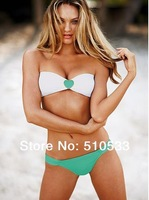 2014 Fashion Secret Padded Swimsuit Women's Rhinestone Sexy Beach wear brand Bikini Swimwear S/M/L