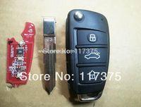 Chery G3 car 3 button folding remote key control 433mhz