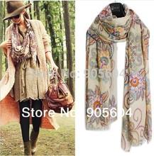 wholesale floral print scarf