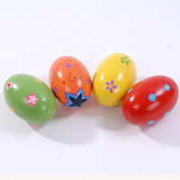 Multicolour baby wool sand eggs child musical instrument percusses musical instrument toy sand eggs egg duck