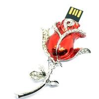 u disk flash disk love rose Rose 4gb 8gb 16gb 32gb jewelry usb flash drive jewelry usb memory pen driver gifts gadget