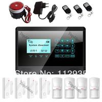 Home Security Burglar gsm alarmsystem LCD Wireless GSM Call