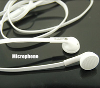 NEW 2014  Quality Deep Bass In Ear DJ Headphones Studio Earphone With Mic For MP3/Tablet/Iphone/Samsung Mobile Phone White Color