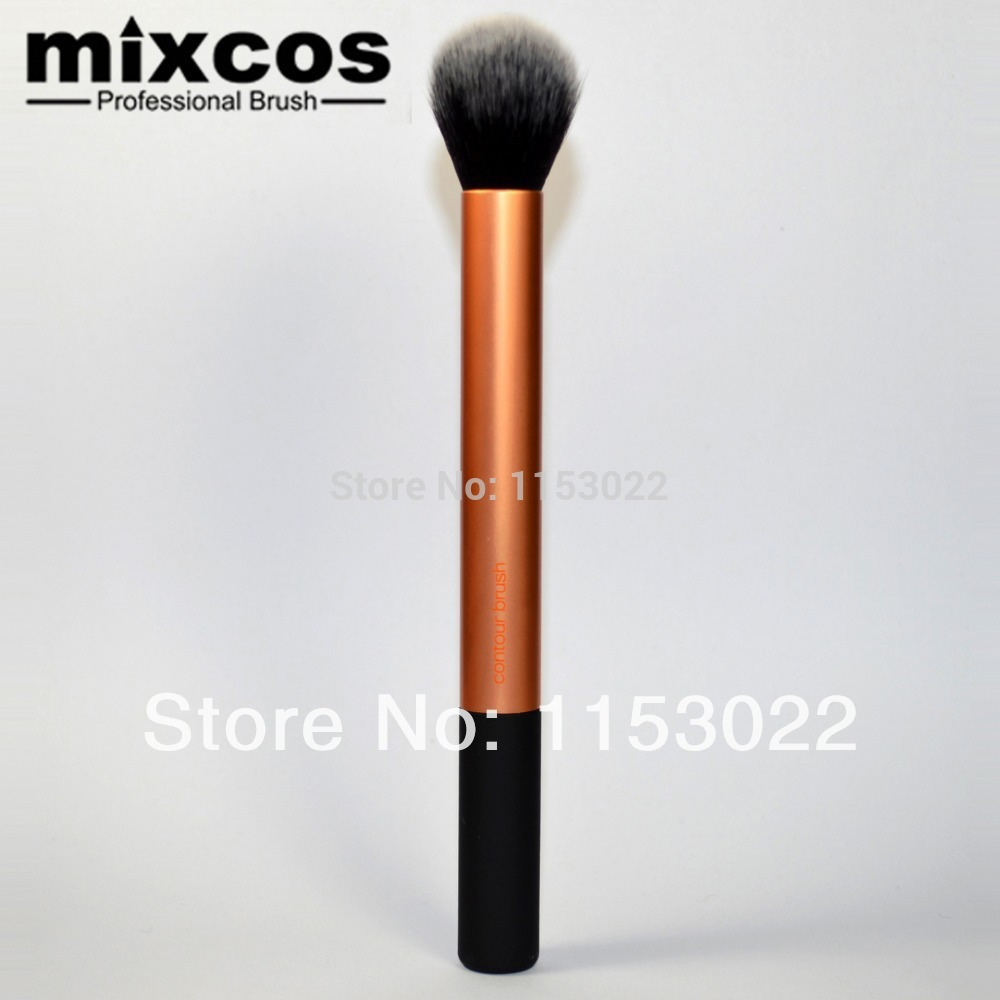 free shipping makeup brush 2014 professional powder blush brush&contour brush(China (Mainland))