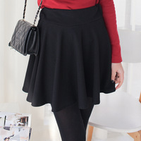 2014 spring women's sweet slim pleated short skirt bust skirt n-997