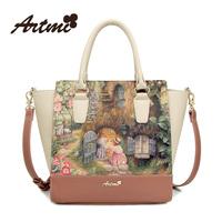 Pre-Sell Artmi2014 spring fashion trend of the rabbit vintage sweet women's handbag shoulder bag  Free Shipping