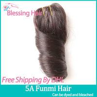 Virgin Remy Romance Curl Aunty Funmi hair,Brazilian Virgin Funmi Sprial Curl Hair 3pcs lot,Hot Sale Queen Human Hair Weaves,1b