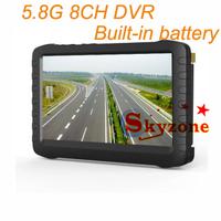 FPV Monitor Receiver PVR-58 5.8G 8CH DVR 5 Inch LCD Screen
