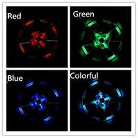 4 PCs/lot Auto Colorful RGB Solar Power Waterproof Strobe Flash Warning Light Car 12 LED Energy Light  Wheel Decorative Light
