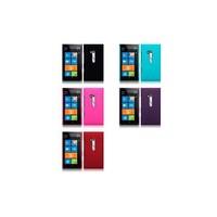 Hybrid Rubberised Back Cover Case For Nokia Lumia 900