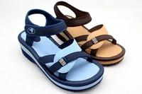 Free shipping Vietnam shoes women's sandals light platform sandals blue brown