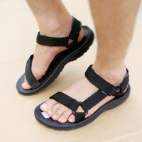Free shipping Vietnam shoes male sandals casual male sandals 38 - 43