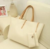 Korean Style PU Shoulder Bags Fashion Belt Decoration Zipper Handbags BC016