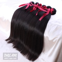 Remy  hair Products 5 pcs Lot Straight Peruvian virgin hair,Grade 5A,unprocessed 100% human hair free shipping  by UPS/DHL