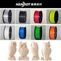 hot selling 3d printer filament 1.75mm 3.00mm PLA filament for desktop 3d printer